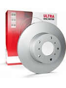 2 X Protex Ultra Brake Rotor For Daewoo Lacetti J200 Dr12407