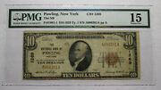 10 1929 Pawling New York Ny National Currency Bank Note Bill Ch. 1269 F15 Pmg