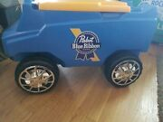 Pabst Beer C3 Rover Truck Remote Control Powered Cooler Ice Chest Lights Up New