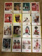 Lot Of 16 Vintage 1960s Cocacola Coke Magazine Ads National Geographic 1960-1965