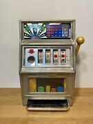 Vintage Toy Waco Casino King Toy Slot Machine For Parts Or Repair