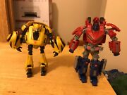Transformers War For Cybertron Optimus Prime And Bumblebee Action Figures
