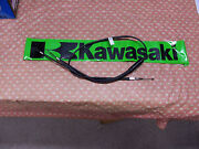 Kawasaki H1/kh500/h2 New Black Choke Cable-left Side Bar Mount-new In Wrapper