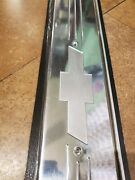 99-06 Full Size Truck Andsuv Rear Door Sill Plates Chevy Bowtie Emblem Gm Official