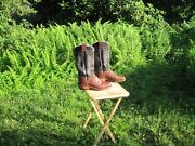 Olathe Boot Co. Cowboy Boots / Made In Usa / Us Men 12 D / Gently Pre-owned