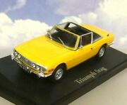 Superb Atlas/norev Classic Sports Cars Diecast 1/43 1971 Triumph Stag In Yellow