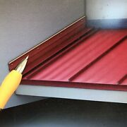 Sidewall Flashing For Corrogated Or Fiberglas Wavy Roofing Sheets