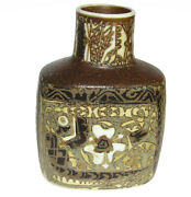Royal Copenhagen Pottery Vase And039 Fajance And039 By Nils Thorsson 1st Quality 7088