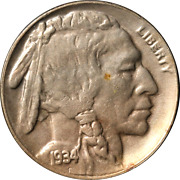 1934-d Buffalo Nickel Great Deals From The Executive Coin Company