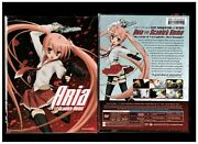 Aria The Scarlet Ammo - Limited Edition Brand New 4-disc Blu-ray/dvd Combo Set
