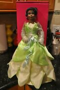 Marie Osmond Disneyland Princess And The Frog Tiana Doll 48 Of 600 Brand New