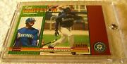 Ken Griffey Jr 1999 Pacific Omega Etched Copper Foil Serial 16/99 Rare Mariners