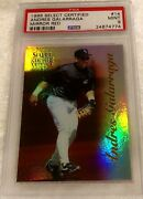 Andres Galarraga 1996 Select Certified Mirror Red Foil Psa 9 Pop 2 Only 90 Made