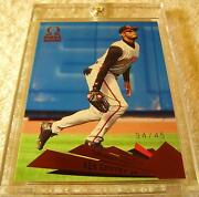Ken Griffey Jr 2000 Pacific Omega Copper Foil 35 Serial 34/45 Very Rare Reds
