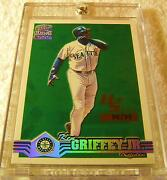 Ken Griffey Jr 2000 Pacific Paramount Holographic Silver Foil 220 Serial 98/99