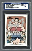 1989 Topps Nintendo Scratch-off Punch-out Mr. Sandman 10 Isa 9 52758792