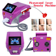 Q Switch Nd Yag Laser Picosecond Laser Tattoo Removal Machine Face Skin Care A+