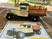 Vintage Trucks Of Yesteryear 1934 Ford Truck Model Diecast And Card Salvage Yard