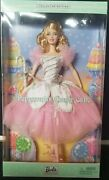 Peppermint Candy Cane Barbie Collector Edition 2002 The Nutcracker Doll