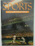 Sports Illustrated 1st Issue With 1954 Topps Cards 9/16/1954 Reprint 2001 153010