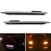 Oe-fit White/amber Sequential Switchback Led Daytime Lights For 18-up Mazda6 Lci