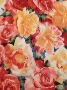 Beautiful Southseas Import Rose Cotton Quilting Fabrc Bty