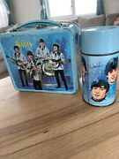 Original 1965 The Beatles Lunchbox With Rare Thermos Made In The Usa By Aladdin