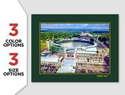 Lambeau Field Photo Poster Green Bay Packers Football Picture 8x10 11x14 16x20