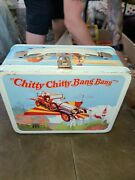 Vintage Chitty Chitty Bang Bang Lunchbox And Thermos - Musical 1969 C-8.5 Wow