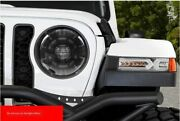 """For Wrangler Jl 2018-2020 All Led Headlight Projector Drl 9""""white Color A2"""