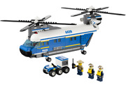 Lego 4439 - Town City Police - Heavy-duty Helicopter - No Box