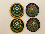 Pk644 Original Us Army 2nd Armored Cavalry Regiment Set Of 4 Patches German Wc7