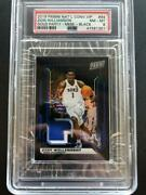 Zion Williamson 2019 National Vip Gold Party 3 Color Patch Black 2/10 Psa 8 Gba