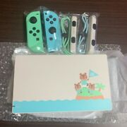 Dock And Joycon Only Nintendo Switch Animal Crossing New Horizons Shipping Free