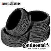 4 X New Continental Contisportcontact 5p 245/35r21 96y Performance Summer Tire