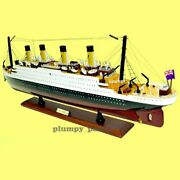 Handcrafted Rms Titanic 1/330 Scale 32 Historical Model Cruise Ship Gift