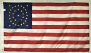 34 Star Gold U.s. 1863 Historical Indoor Outdoor Dyed Nylon Flag Grommets 3and039x5and039