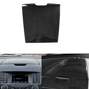 For Ford Edge 2015 2016-2020 Abs Carbon Fiber Console Dashboard Panel Decoration