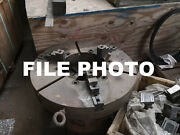 Bison 16 3 Jaw Chuck Soft Jaw Tongue And Groove Ntj 5 Thruhold A11 Used