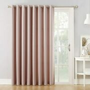 Door Curtain Panel Sliding Glass Patio Blinds Blackout Pull Wand 100x84 Colors