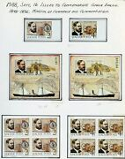 Hungary 1988 Selec Imperf Stamps And Perf Block And S/s Perf/impf On Pages Mint Nh
