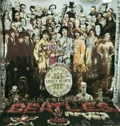 The Beatles Sgt. Pepper Woven Tapestry Blanket The Rug Barn 53x65 Inches