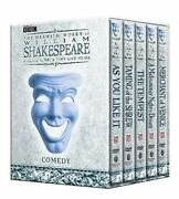 The Dramatic Works Of William Shakespeare Comedy Dvd, 2004, 5-disc Set
