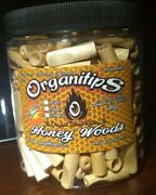Wood Wooden Smoking Tips Flavored 12 Pack Honey