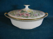 Lenox Flower Song 11 Round Covered Serving Bowl With Lid