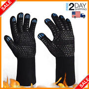 Oven Gloves Hot Bbq Grill 1472f Oven Mitts For Cooking Grilling Kitchen Smoker