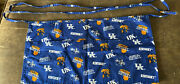 University Of Kentucky Concession Apron 3 Pockets 20 X 10 35 Inch Tiesniceused