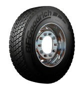 4 New Bfgoodrich Route Control D - 245/70r19.5 Tires 24570195 245 70 19.5