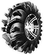 4 New Wolf Pack Su83 - 34x10.00-15 Tires 34100015 34 10.00 15