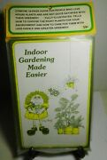10 Indoor Gardening Made Easier- Paperback Books 1975-the Great Greenery Co-new